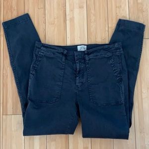 J.Crew Charcoal Colored Cargo Pants